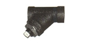 CAST IRON PIPE LINE STRAINERS